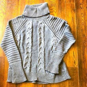 Chunky Grey Sweater Size Medium